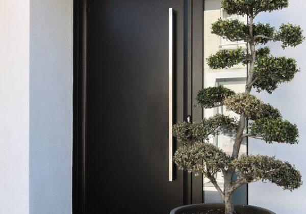דלת חוץ קו אפס קרירות אלגנטית