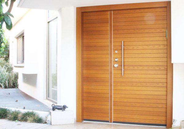 עיצוב דלת כניסה לבית בסגנון כפרי