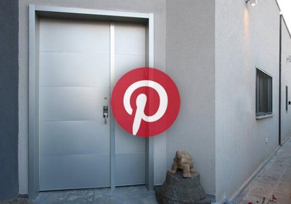 הכח של פינטרסט Pinterest – דלתות חוץ מעוצבות