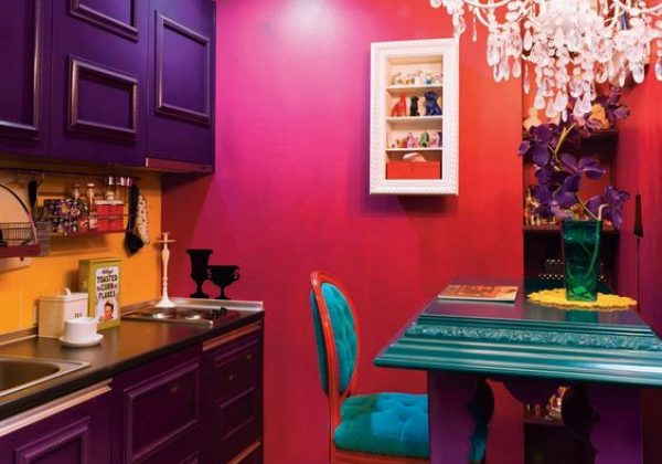 צבעים בדלתות כניסה